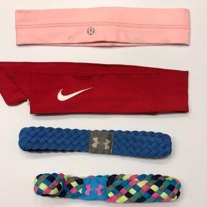 Athletic headband set